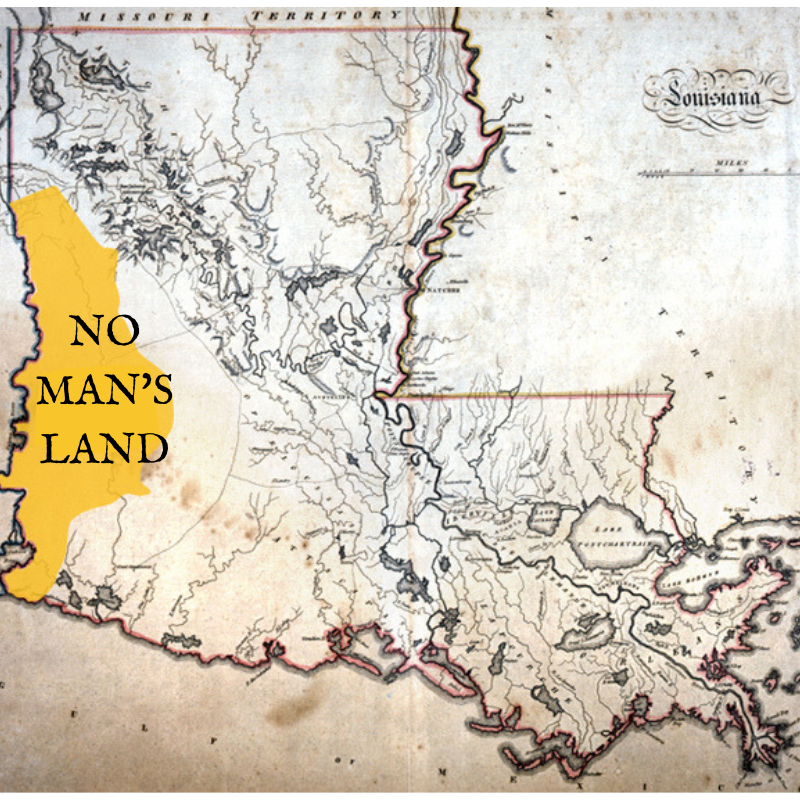 No Man's Land Historical Map