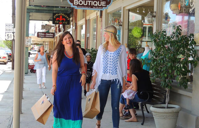 Shopping in Ponchatoula