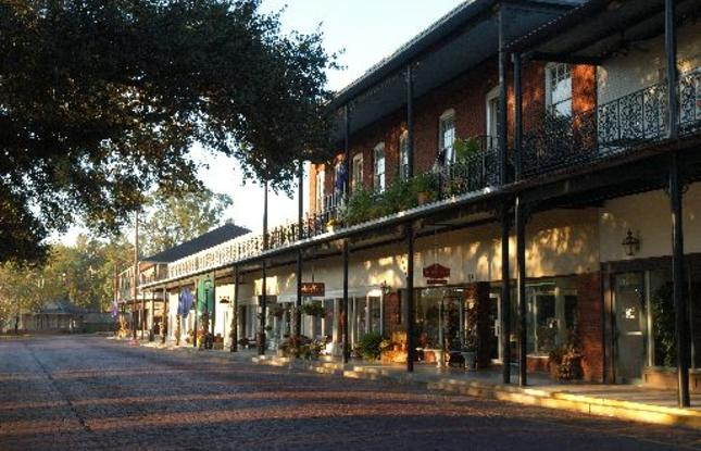 Famous Streets - Historic Front Street in Natchitoches Louisiana