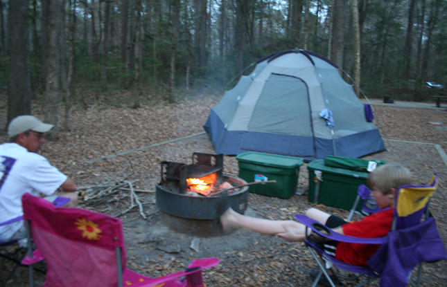 Camping in Kisatchie National Park
