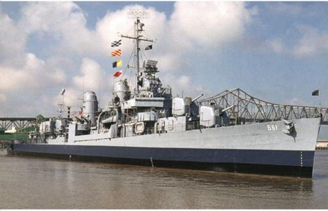 USS KIDD Battleship in Baton Rouge