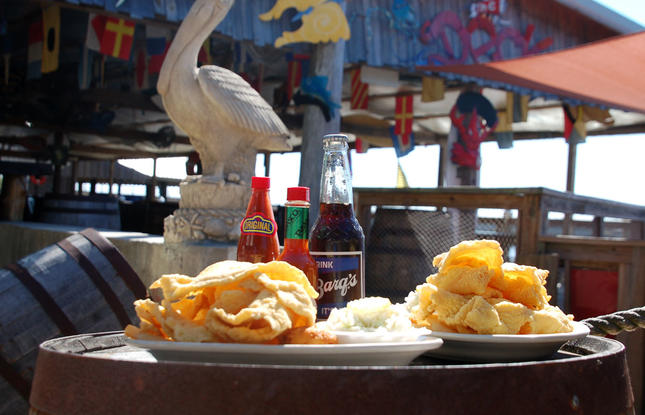 Middendorf's Restaurant on the Northshore of Louisiana is known for their fried catfish.