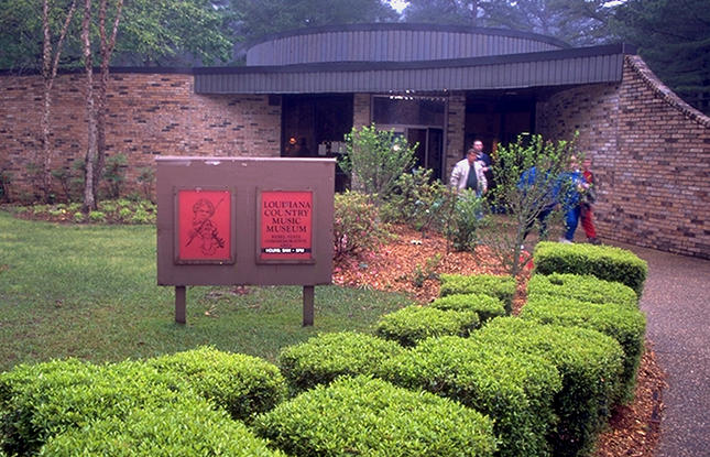 Louisiana's Country Music Museum at Rebel State Historic Site.