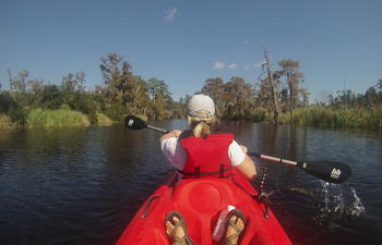 kayaking louisiana's northshore