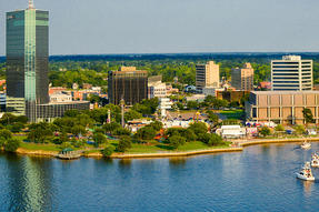 Lakefront in Lake Charles Photo