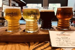 Beer Flight at Crying Eagle