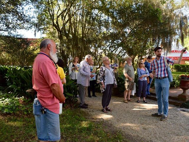 Dave's Haunts & Jaunts Bus Tour visits Shadows on the Teche Photo 3