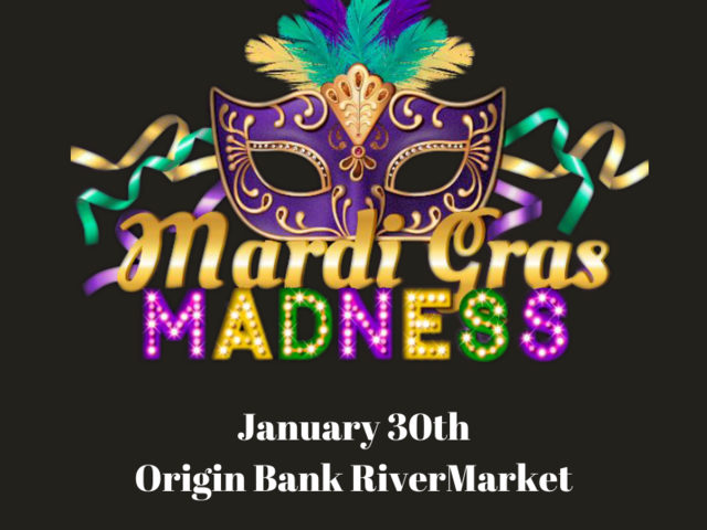 Mardi Gras Madness in Downtown Monroe! Photo
