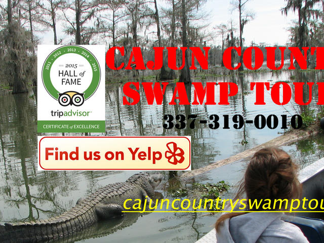 Cajun Country Swamp Tours Photo