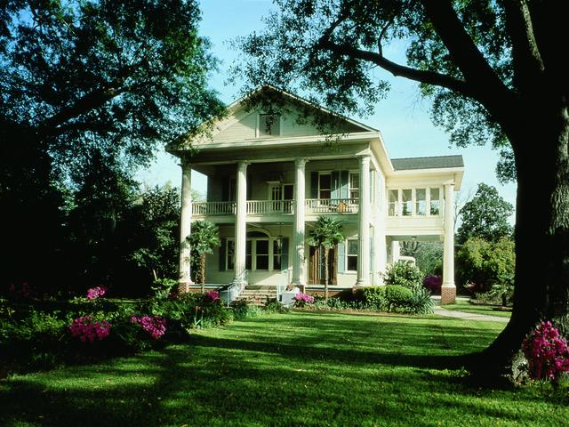 Historic home in Lake Charles' Charpentier Historic District. Photo