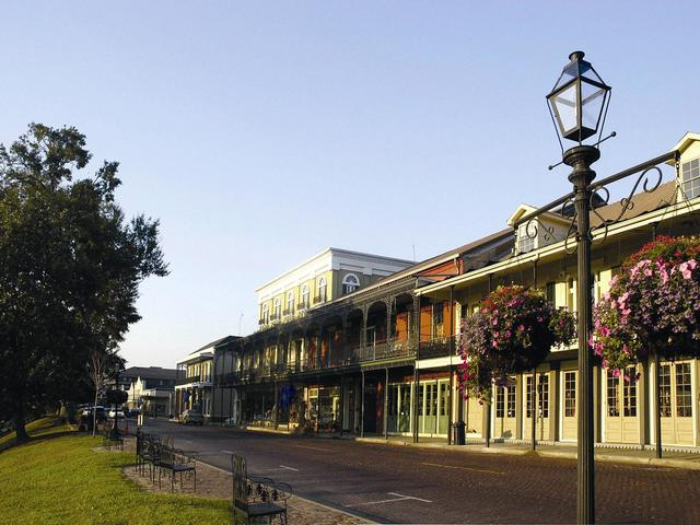 The Natchitoches National Historic Landmark District is one of three such districts in Louisiana.