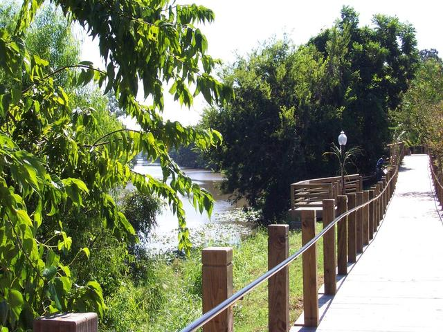 Historic New Iberia Bayou Teche Boardwalk