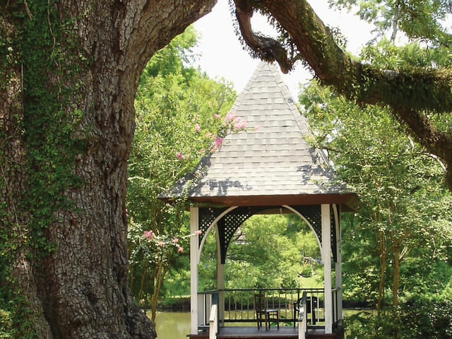 Evangeline Oak and Gazebo