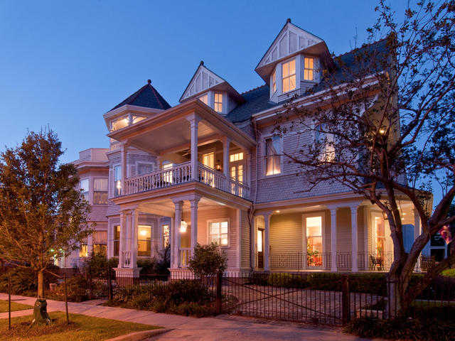 Grand Victorian at Dusk Photo