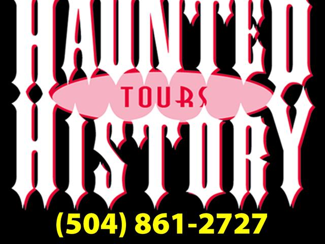 For the best tour deals, book on line, www.HauntedHistoryTours.com