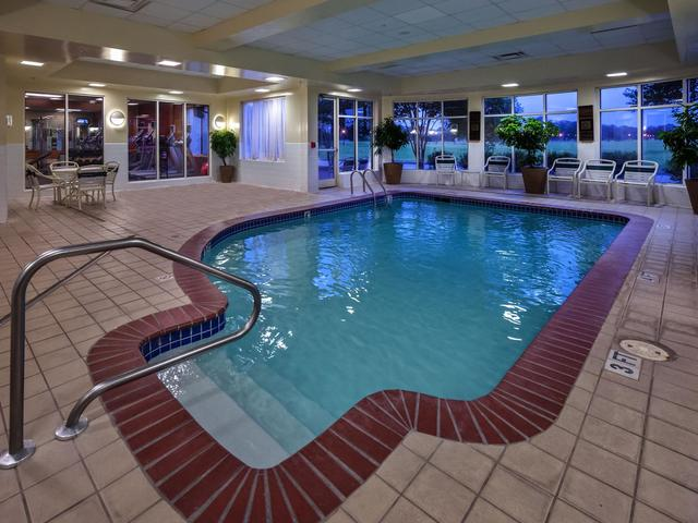 Relax by our indoor pool