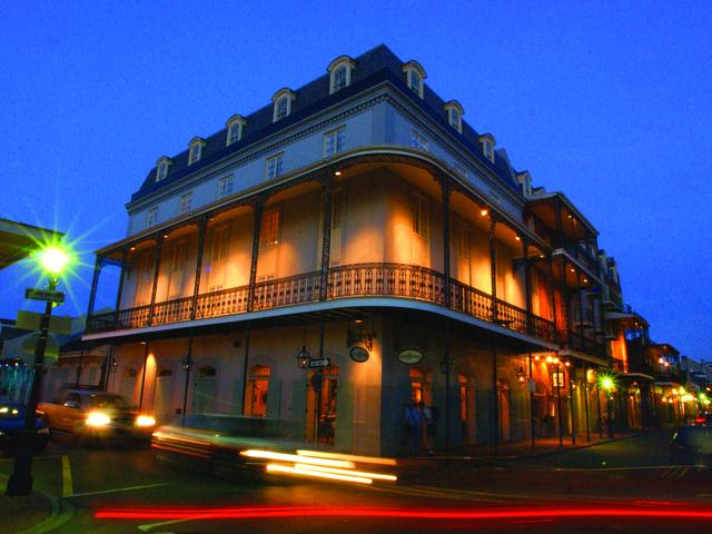 The Hotel St. Marie lights up the French Quarter Photo