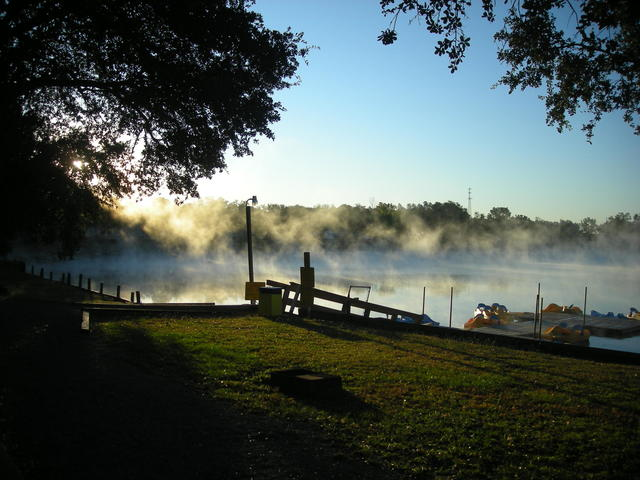 Beautiful Fall Morning over the Lake