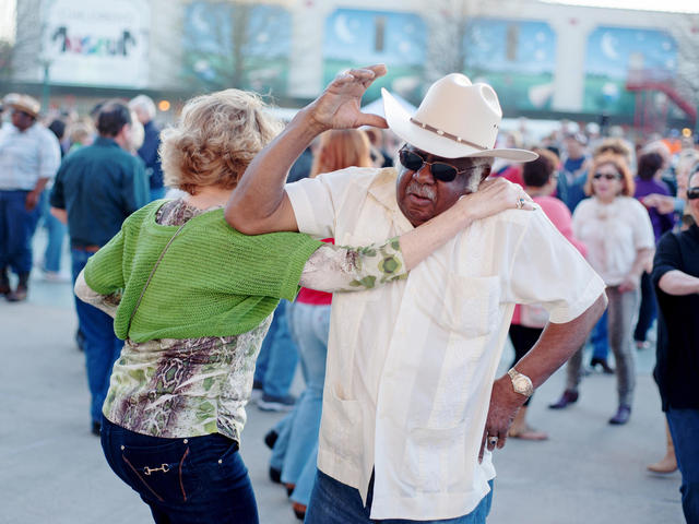 Locals dancing at Downtown Alive!