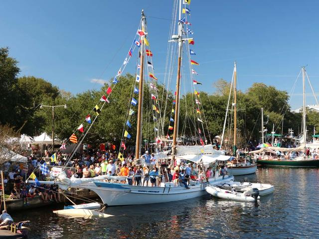 The Wooden Boat Festival in Madisonville photo by Jim Kubik.