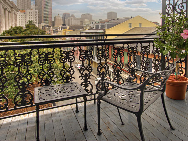 French Quarter View from one of the Balcony Sleeping Rooms Photo 4