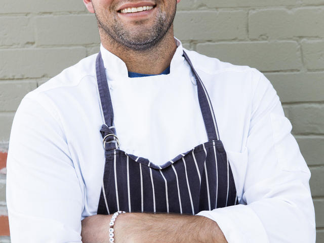Chef Jeffrey Hansell. Photo by Stephen DeVries.