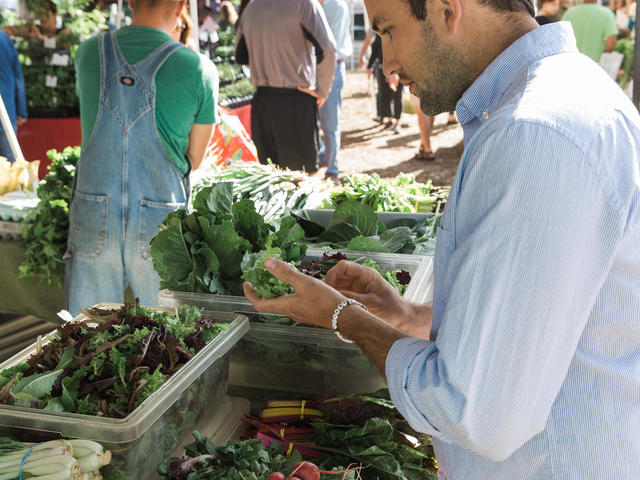 Chef Hansell's menu is seasonal and fresh, thanks to the Covington Farmers Market.