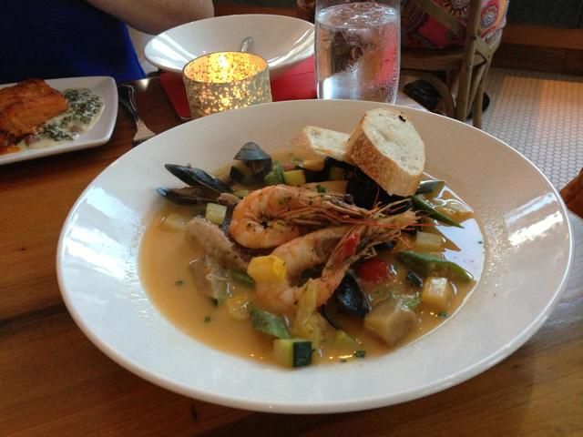 Southern Bouillabaisse from Oxlot 9. Photo courtesy LouisianaNorthshore.com