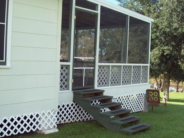 View of Screen Porch Photo 4