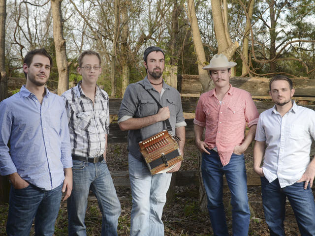Cajun Music with youthful exuberance.