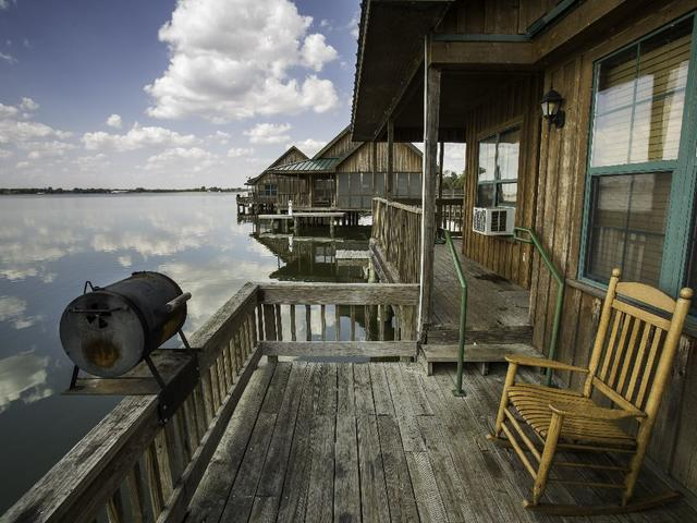 Relax in waterfront cabins at Poverty Point Reservoir State Park Photo 3
