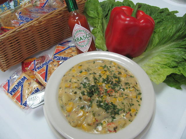 Our Cajun Soup of the Day is made fresh and updated daily