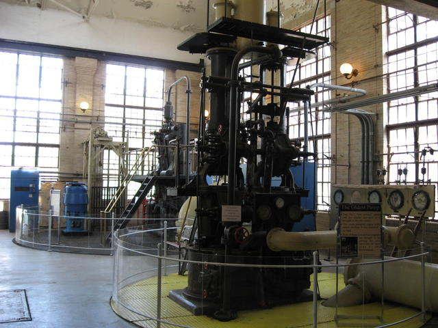 McNeill Street Pumping Station's oldest pump at the Shreveport Water Works Museum. Photo