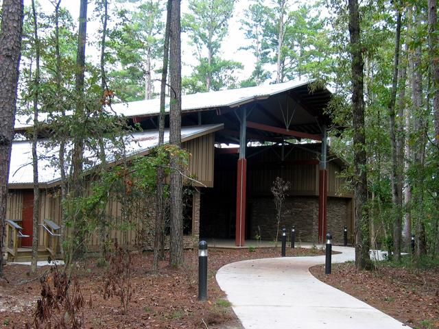 South Toledo Bend State Park's visitor center offers a scenic setting for gatherings, from family reunions to weddings. Photo