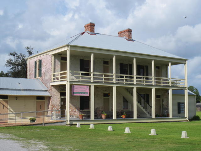 The original Slave quarters at Southdown Plantation