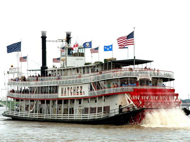 Day on the Natchez Harbor Jazz Cruise