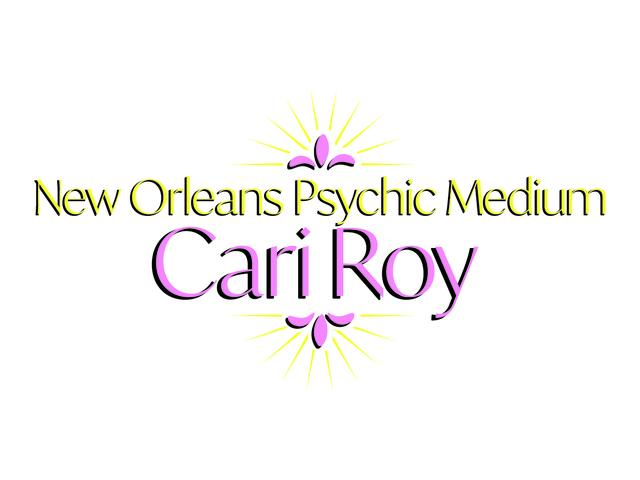 New Orleans Psychic Medium Cari Roy Logo Photo 3