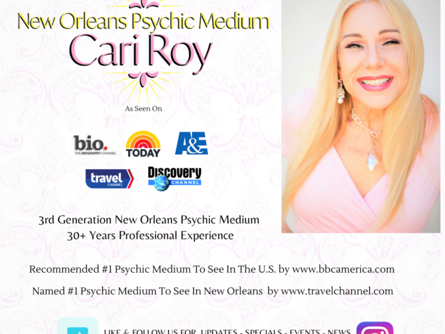 New Orleans Psychic Medium Cari Roy Photo 2