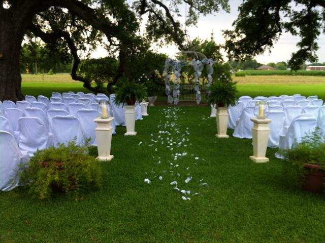 Stunning plantation wedding venu