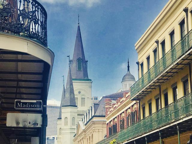 St. Louis Cathedral in the historic French Quarter