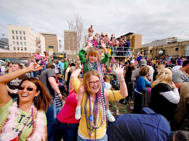 A Mardi Gras celebration the whole family can enjoy!