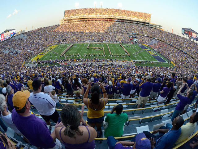 Home of LSU's Fighting Tigers! Photo credit: Steve Franz, LSU
