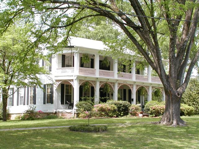 Over 70 historic properties in the Historic Residentail District in Minden. Photo