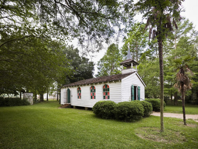 The church at LSU Rural Life Museum