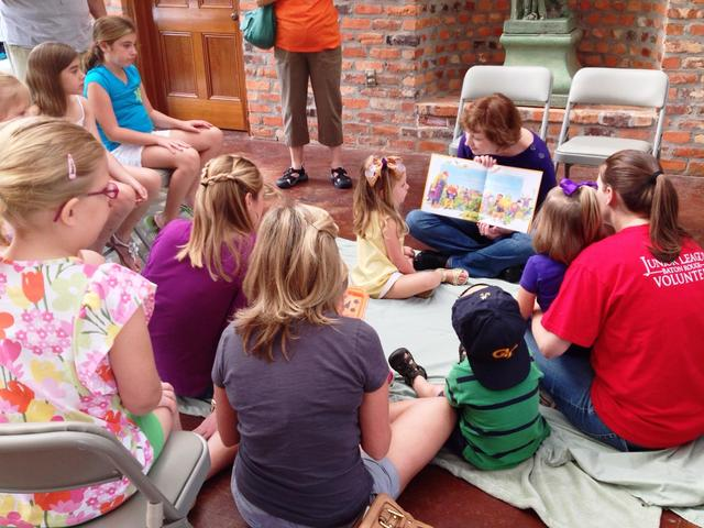 StoryTime at LSU AgCenter Botanic Gardens